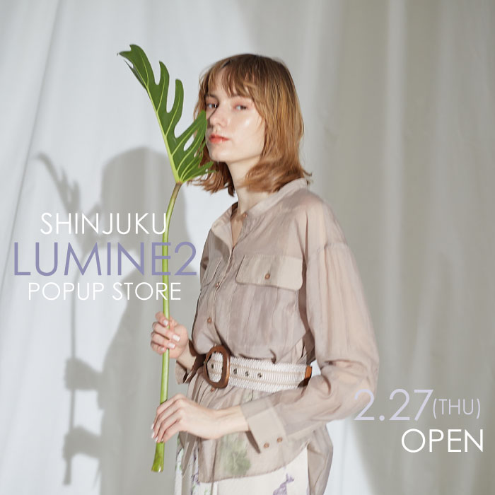 LADYMADE 新宿ルミネ2 POPUP STORE OPEN!