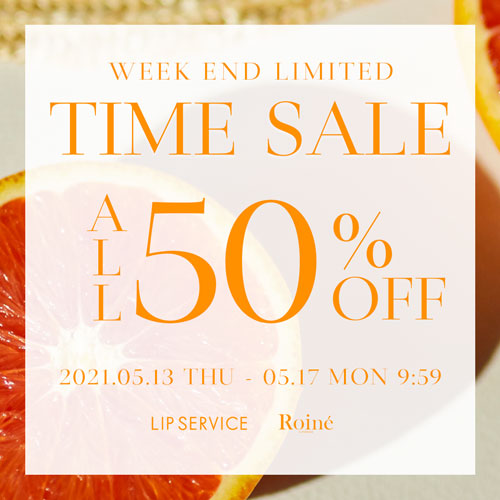 0503 :ALL50%OFFTIMESALE